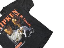 Load image into Gallery viewer, VTG Cal Ripken Jr Fram Promo Mens Tshirt XL Baltimore Orioles 90s Single Stitch