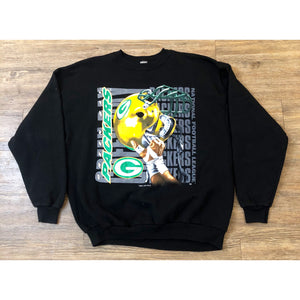VINTAGE 1995 LOGO 7 NFL GREEN BAY PACKERS CREWNECK SWEATSHIRT SWEATER
