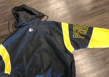 Load image into Gallery viewer, DOPE VINTAGE NHL STARTER PITTSBURGH PENGUINS JACKET WITH HIDEAWAY HOODY