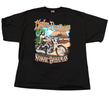 Load image into Gallery viewer, Harley-Davidson Nassau Bahamas Men's Size XXL Vintage Black Short Sleeve T-Shirt