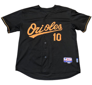 Adam Jones Authentic Alternate Black Baltimore Orioles Jersey Size 54 3XL