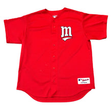 Load image into Gallery viewer, Minnesota Twins MLB Baseball Blank Jersey Mens Size XL Red Majestic Minneapolis