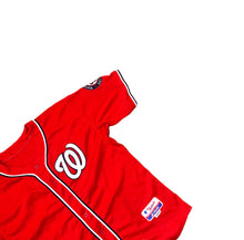 Load image into Gallery viewer, Washington Nationals Stiched Red Majestic Authentic Jersey MLB Mens 50 XXL