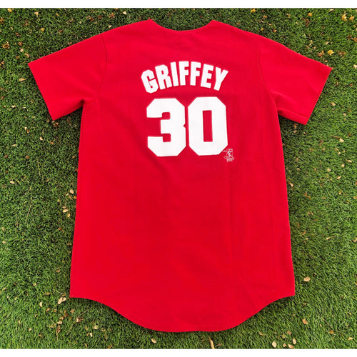 Vintage Majestic Cincinnati Reds Ken Griffey MLB Baseball Authentic Jersey
