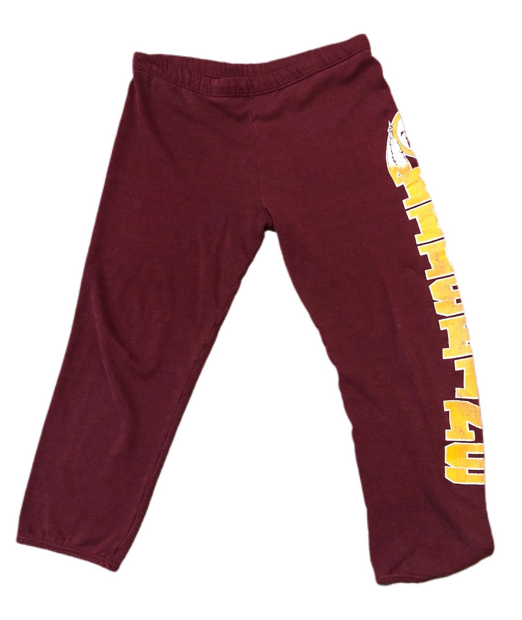 Vintage WASHINGTON REDSKINS LOGO 7 SWEATPANTS SZ L 50/50 NFL SUPREME SUPER BOWL