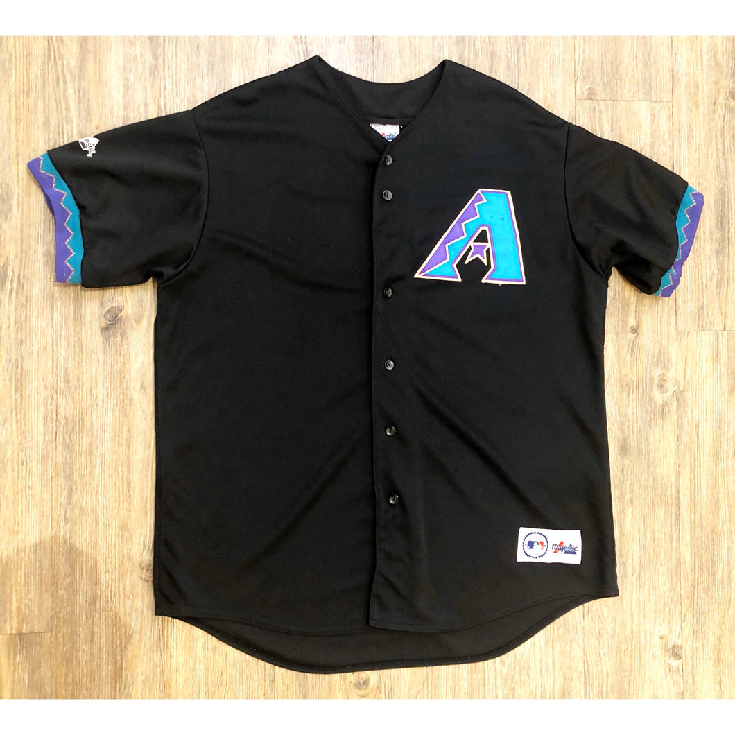 VINTAGE MAJESTIC ARIZONA DIAMONDBACKS MLB BASEBALL JERSEY