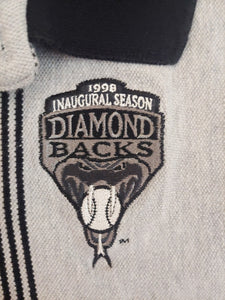 Vintage Arizona Diamondbacks Inaugural Season 1998 POLO T-Shirt Mens XL MLB GRAY