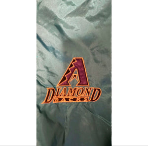 Vintage 90s Arizona Diamondbacks MLB Pro Player Windbreaker Tracksuit Mens Sz L
