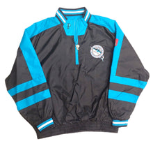 Load image into Gallery viewer, VINTAGE PRO PLAYER  Florida Marlins Windbreaker JACKET Black Miami Size L Large