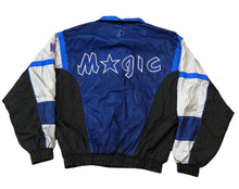 Load image into Gallery viewer, Orlando Magic Pro Player Blue Daniel Young Vintage Zip Up Windbreaker Jacket Size Large