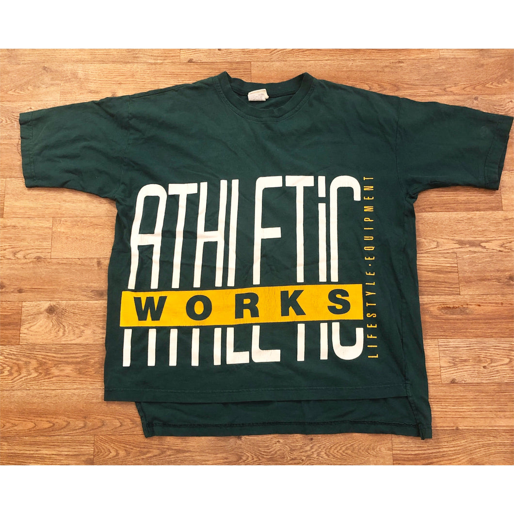 Vintage Nutmeg Oakland Athletics MLB Baseball T-shirt Tee