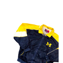 Load image into Gallery viewer, Vintage Pro Player Daniel Young 90s NBA Michigan Windbreaker Jacket XL Wolverines