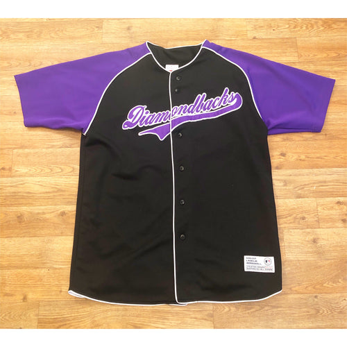 VINTAGE TRUE FAN ARIZONA DIAMONDBACKS MLB BASEBALL JERSEY