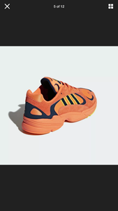 Adidas Yung 1 Orange Size 10 New