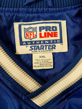 Load image into Gallery viewer, Vintage 90s Detroit Lions NFL Classic Windbreaker Starter Jacket XXL Pullover