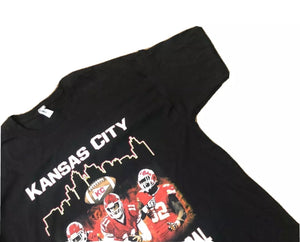 Vintage Kansas City Chiefs Tee Black XL