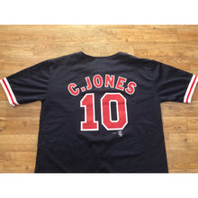 Load image into Gallery viewer, Vintage Sports Attack Atlanta Braves Chipper Jones MLB Baseball Authentic Jersey