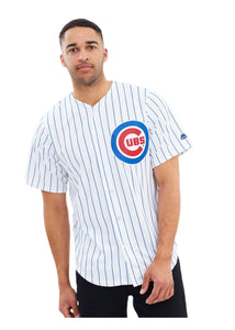 Vintage Pinstripe Chicago Cubs Majestic Men's White MLB Baseball Jersey - XL