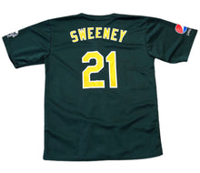 Load image into Gallery viewer, 2010 RYAN SWEENEY #21 Oakland A's SGA JERSEY Script Elephant Pepsi Logo Men 2XL