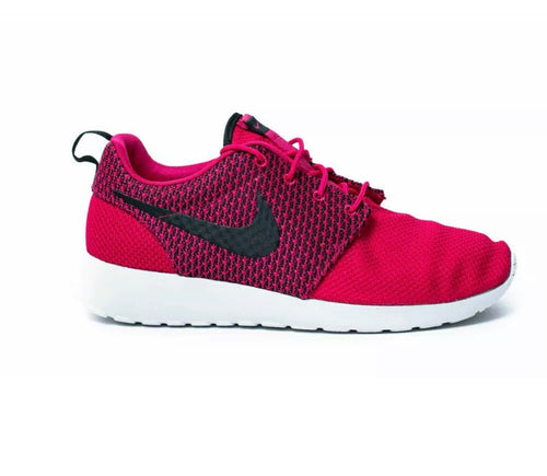Nike Rosherun Mens 13 Fuchsia Punch Red Lightweight Running Shoes 511881-662