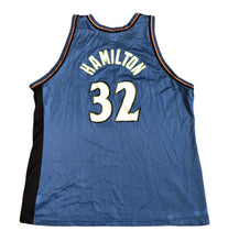 Load image into Gallery viewer, Vintage Champion Washington Wizards Richard Hamilton Jersey Men's 2XL (52) Blue