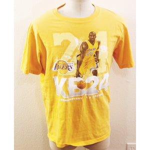 VINTAGE NBA LOS ANGELES LAKERS 24 KOBE BRYANT TSHIRT