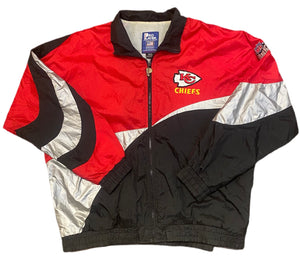 Vintage Pro Player Kansas City Chiefs Windbreaker Jacket