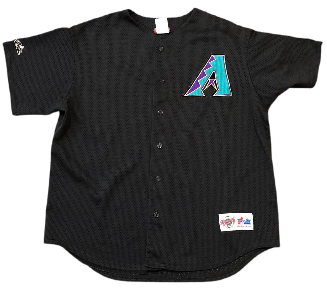 VTG 1998 Inaugural Season Arizona Diamondbacks Jersey Diamond Collection XL
