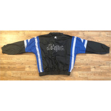 Load image into Gallery viewer, RARE DOPE VINTAGE NBA STARTER ORLANDO MAGIC JACKET WITH HIDEAWAY HOODY