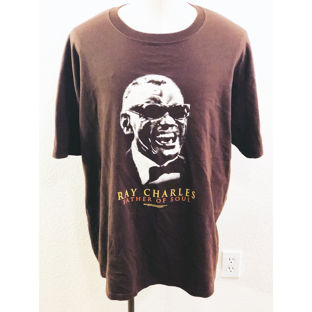 VINTAGE RAY CHARLES FATHER OF SOUL TEE