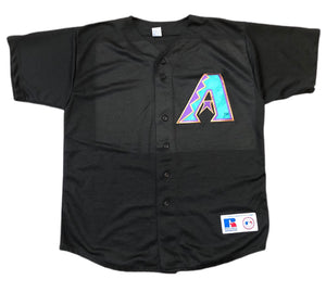 Vintage Rawlings Arizona Diamond Backs Authentic Collection Baseball Jersey XL