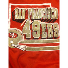 Load image into Gallery viewer, VINTAGE TRENCH NFL SAN FRANCISCO 49ERS  CREWNECK SWEATSHIRT SWEATER