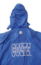 Load image into Gallery viewer, VTG Starter Indianapolis Colts Windbreaker Light Weight Jacket Sz L Large