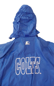VTG Starter Indianapolis Colts Windbreaker Light Weight Jacket Sz L Large