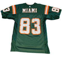 Load image into Gallery viewer, MIAMI HURRICANES #83 ANDRE BURT VINTAGE COLOSSEUM NCAA JERSEY MENS M The U VTG