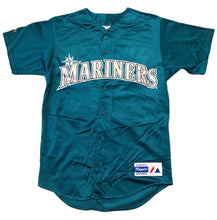 Load image into Gallery viewer, Vintage Ken Griffey Jr. Seattle Mariners Alternate Teal Jersey Men's S Authentic