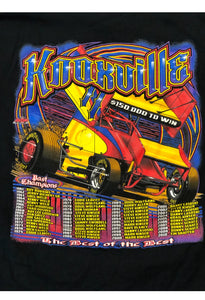 Vintage Toyota Knoxville Tshirt Tazwell Speedway Nascar Shirt Racing Tee 2XL.