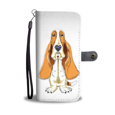 Beagle Dog Cell Phone Wallet Case