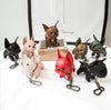 Best Frenchie French Bulldog Leather Keychain 18 Colors