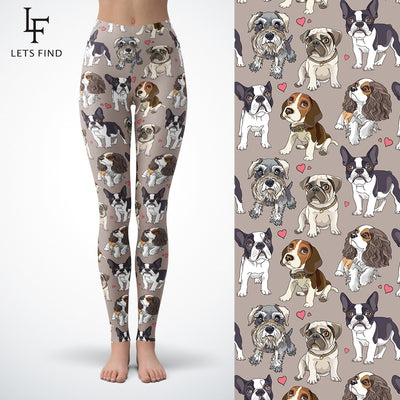 Cute Pups assorted Dog leggings