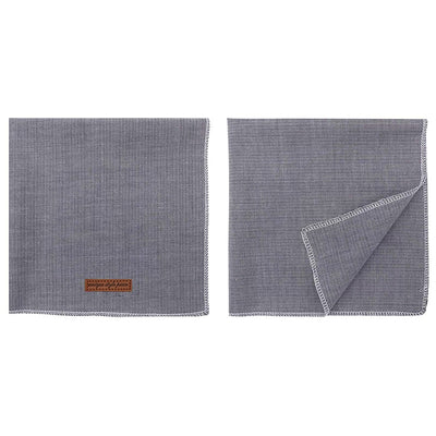 Denim Jeans Bandana Set 2/pk
