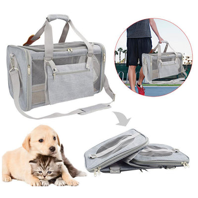 Pet Carrier Dog Duffle Bag Small
