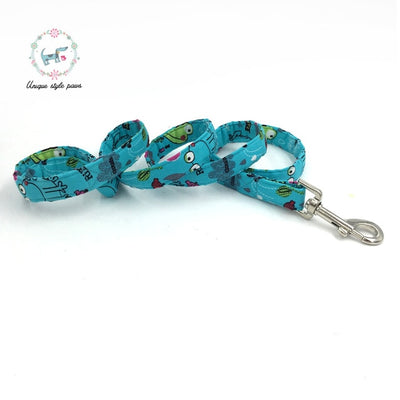Froggy Time Dog Collar|Bowtie|Leash