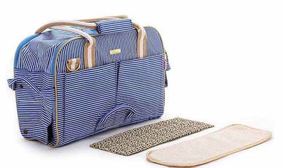 Stripe Travel Tote Breathable Small & Large - 3 Colors