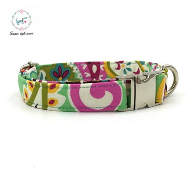 Flower Fresh Dog Collar|Bowtie|Leash