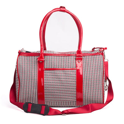 Luxury Pet Purse Travel Carrier Dog or Cat - 2 Colors
