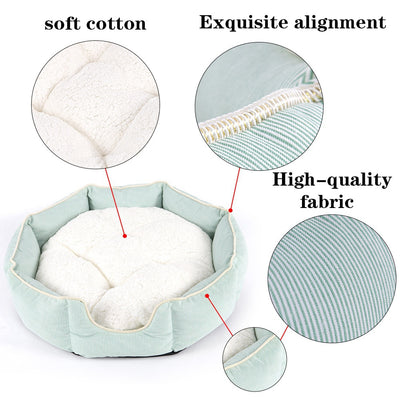 Lux Soft Dog Bed Mint