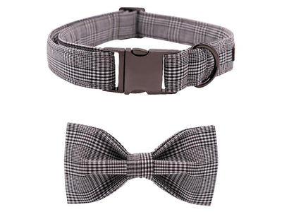 The Oliver Dog Collar|Bowtie|Leash