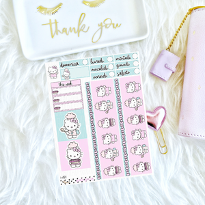 Hobonichi cousin A5 - week set H.Kitty