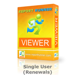Report Runner Viewer Single User License Renewal